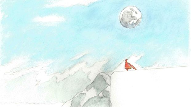 Journey watercolor 04 by Seigner