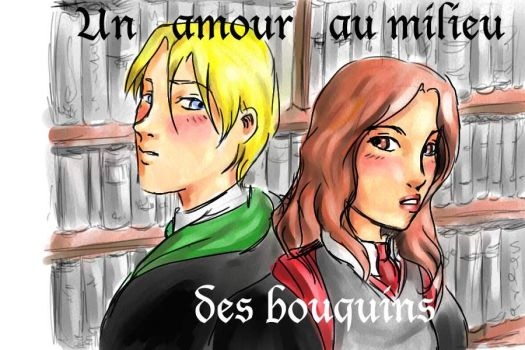 Hermione Granger and Draco Malfoy by Nephtys81