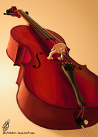 A Cello by MisterLolrus
