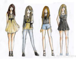 Fashion designs by MangaBea