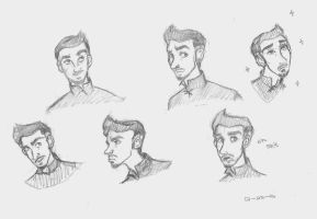 Lord Baelish doodles by flybynite19