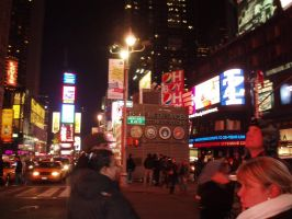 Times Square by AntiRetrovirus