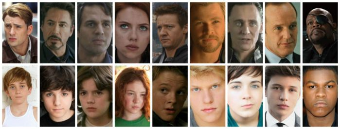 The Avengers- Now and Then by Lindsey-Cullen1