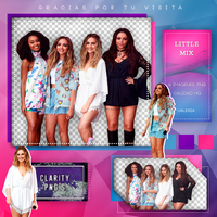 Pack Png 296 - Little Mix. by Clarity-pngs