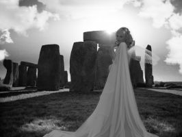 Stonehenge Apparition by LeviathanDy
