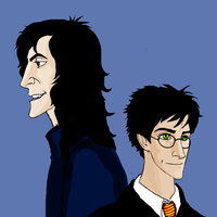 Harry and Sirius by Lucius007