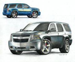 Chevy Tahoe SS - 2007 by SeawolfPaul