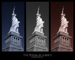 The Statue of Liberty by danlev