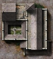 Winterhaven Temple of Avandra - F2 rooftops by dasomerville