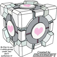 Weighted Companion Cube by CsioSoft