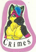 Crimes Badge by Dresden-Complex