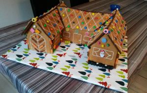 Gingerbread House 2014 by Miretz