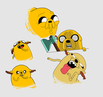 My favorite Jake faces by Sci00