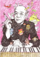 Joe Hisaishi by handiwukong