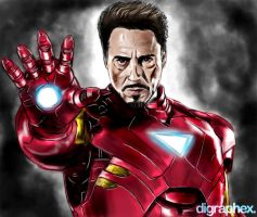 Iron Man by arhumn