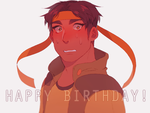 happy bday hunkypants by yiawe