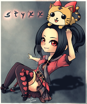 [Commission] Revelation Online - styxx by Sonou