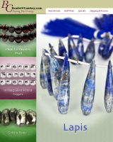 Lapis Lazuli Emailer by BeadsofCambay