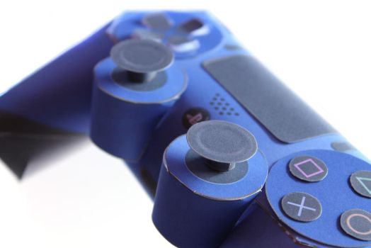 PlayStation 4 Controller - Papercraft by kamibox