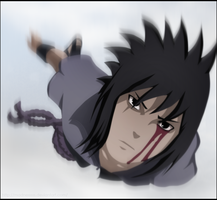 Sasuke Flying by Madnesssss