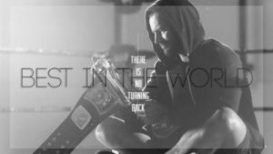 Best in the world CM PUNK by lovelives4ever