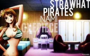 Straw Hat Pirates, Nami. by fogdark