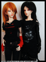 Black and You by AvaInWonderland