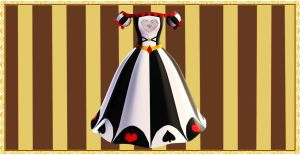 Alice Poker dress (Download) by YamiSweet
