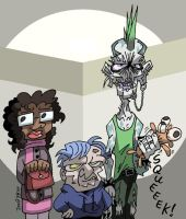 RandomHumans-Three Freaks by NewtMan