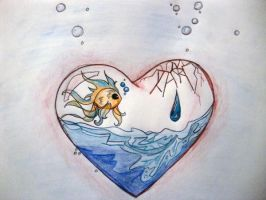 Your love is gonna drown by msgamerdude