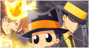 Tsuna + Adult Reborn Banner by JasonArtNaruto