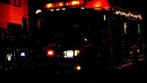 firetruck at night 2 by DennisDawg