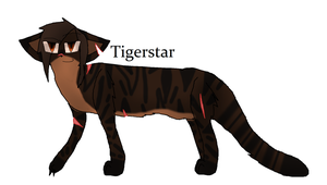 Tigerstar (100 Warriors Challenge) by TheSlendermanIsHere