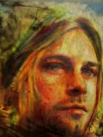Kurt cobain face by AnnarXy
