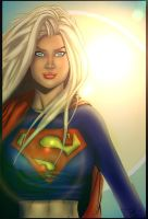 Supergirl Coloring Competition Entry by FairlyOddChick91