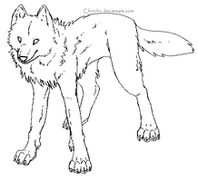 Lupe-Wolf Makeable by TeaDino