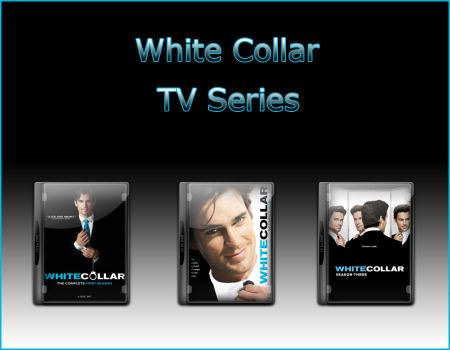 White Collar TV Series Icons by jake2456