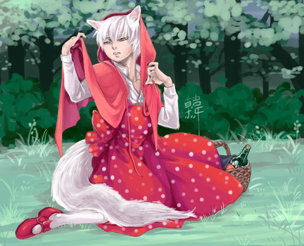 Red Riding Hood by g2ng2