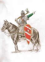 Norman Knight 11th Century First Colour by mr-macd