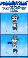 FREE!STYLE~Just Add Water by LittleMissSquiggles