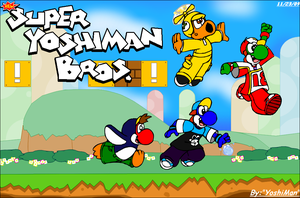New Super YoshiMan Bros. by YoshiMan1118