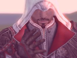 Ezio Auditore- Older 2 ( Gonna scrap later) by BabcinyPasztet