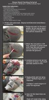 Amon Mask Painting Tutorial by ClothBender