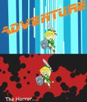 Link took an arrow to the knee by ILIKEHUGSS