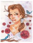 Belle and Birdies by Endless-Ness