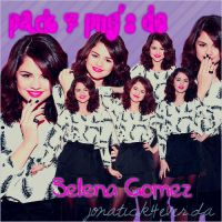 Pack 7 png's Selena Gomez by jonatick4ever