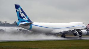 Boeing 747-8F '1st One' Blowin by shelbs2