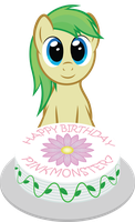 Happy Birthday! PinkMonster7 by TechRainbow