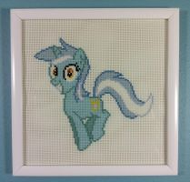 Happy Lyra Cross Stitch by Lahirien