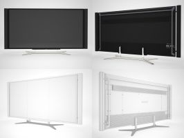 Sony TV KD-84X9005 by The-V7